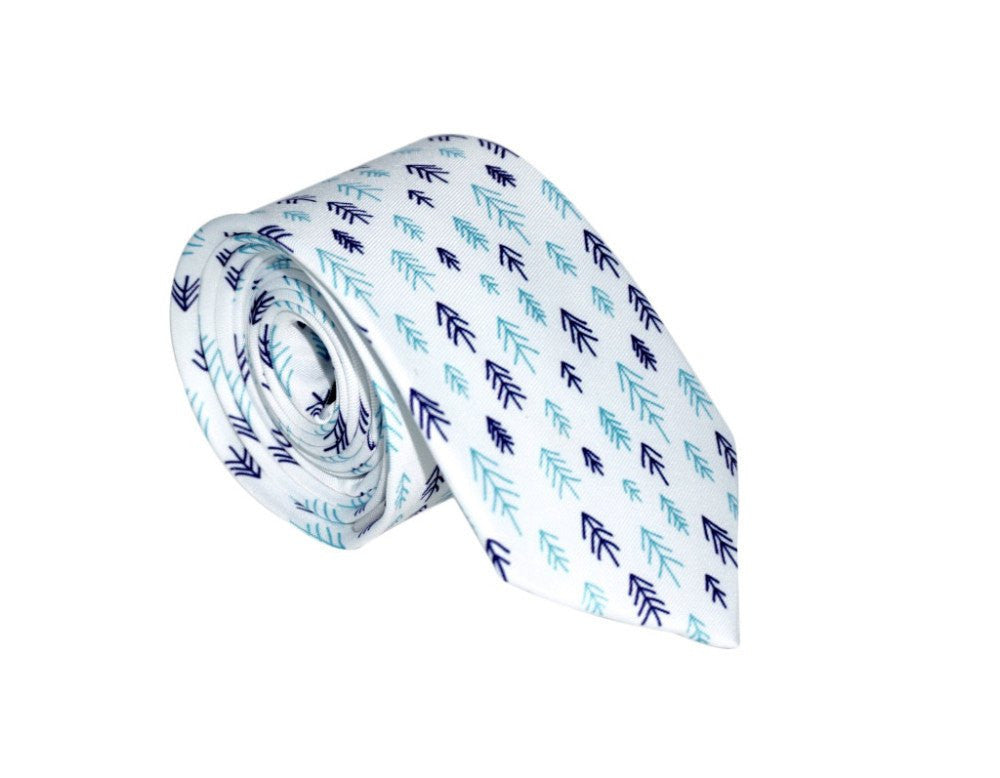 Woods Men's Neck Tie - MuleTies - 1