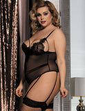 Lace Teddy Lingerie - 2 litir