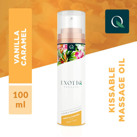 Exotiq Massage Oil Vanilla Caramel