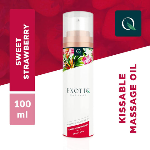 Exotiq Massage Oil Sweet Strawberry