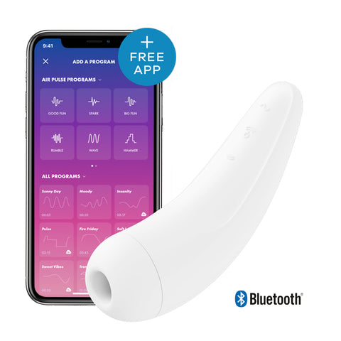 SATISFYER CURVY 2+ CLITORAL STIMULATOR