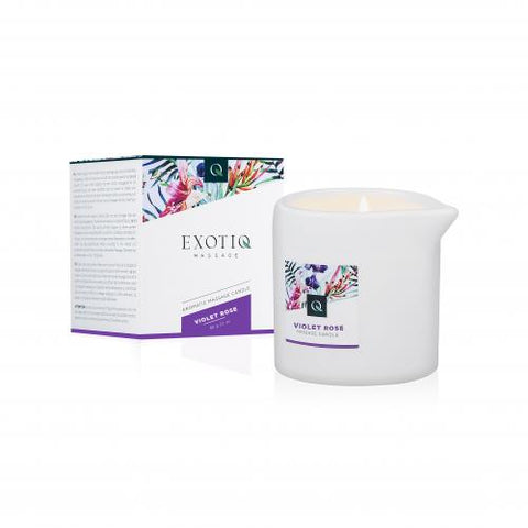 Exotiq Massage Candle Violet Rose
