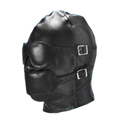 Luxury Mask Hood with Ball Gag