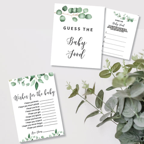 Eucalyptus Baby Shower