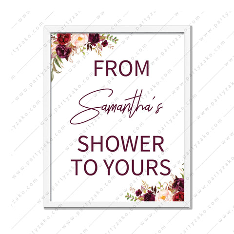 Marsala - From my shower to yours Poster