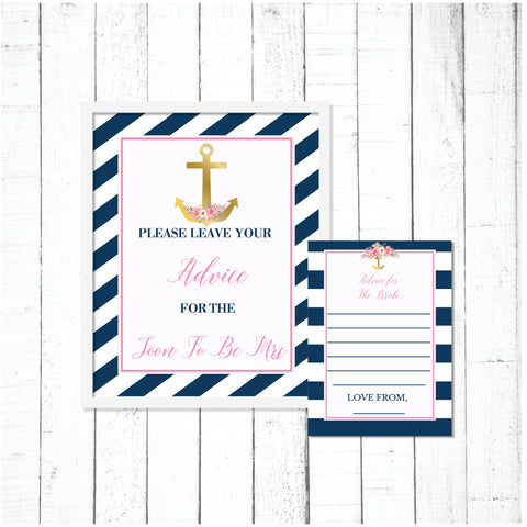 Nautical Advice For the Bride