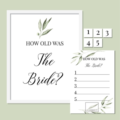 Olive How old was the bride