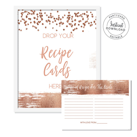 Rose Gold Drop your recipes