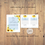 Sunflower Baby Shower advice for mom