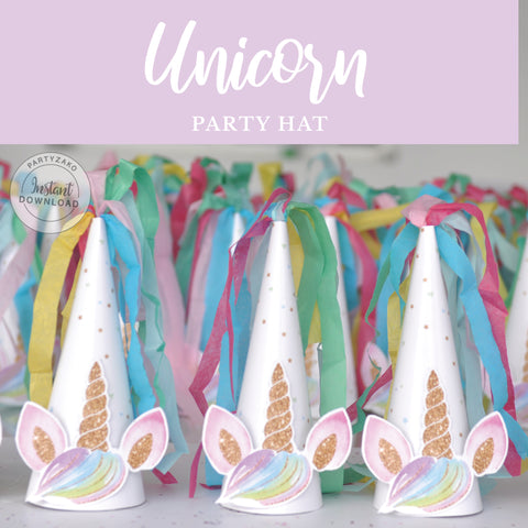 Unicorn Party Hat