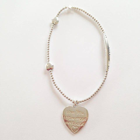 Love Bracelet Love you to the Moon and Back