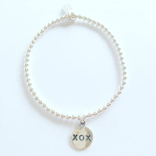 3mm Hugs and Kisses Bracelet