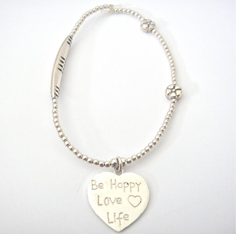 Love Bracelet Be Happy Love Life