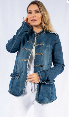 Jacket Military Denim