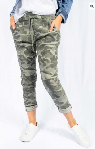 Pant Camouflage Jean