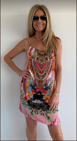 1  A A A Pink  Cami Dress .. S Available now!!! Resort Wear