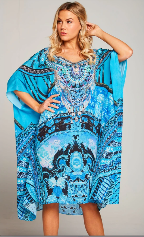 Caftan Round Neck.. Unforgettable Dream