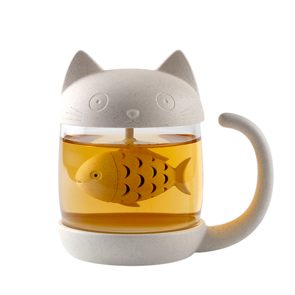 Kit-Tea Cat Tea Infuser