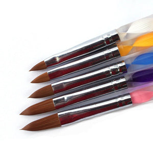 5 Pieces  Professional Acrylic  Pen Brush