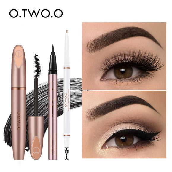 3pcs Eyes Makeup Set