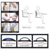 Back Magic Stretcher Massager - Fitness Lumbar Support Relaxation Spine Pain