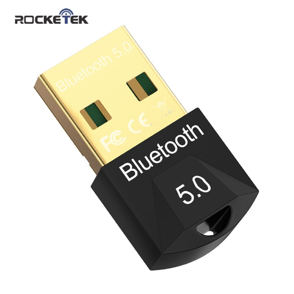 Rocketek USB Bluetooth Dongle Adapter 5.0