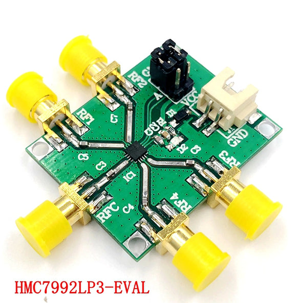 DYKB HMC7992 module 0.1 GHz to 6GHz Nonreflective silicon SP4T switch for Ham Radio Amplifier CATV / DBS