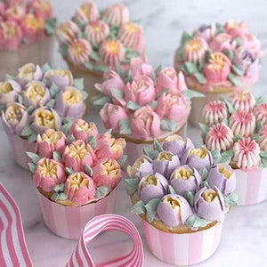 CakeLove - Flower-Shaped Frosting Nozzles