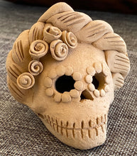 Load image into Gallery viewer, Mini Frida Day of the Dead Skull IV