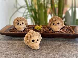 Mini Frida Day of the Dead Skull IV