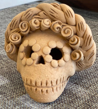 Load image into Gallery viewer, Mini Frida Kahlo Day of the Dead Skull