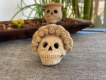 Load image into Gallery viewer, Mini Frida Kahlo Day of the Dead Skull II
