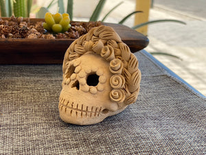 Mini Frida Kahlo Day of the Dead Skull