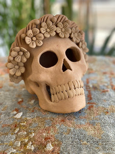 Large Day of the Dead Skull
