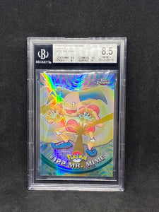 1999 TOPPS Chrome Series 2 Spectra Chrome #122 Mr. Mime BGS 8.5