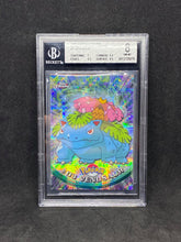 Load image into Gallery viewer, 1999 TOPPS Chrome Series 1 Tekno Chrome #3 Venasaur BGS 8