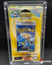 Load image into Gallery viewer, 1999 Pokemon 1st Edition Base Set Blister Pack - Blastoise Art