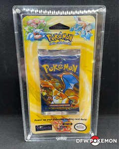 1999 Pokemon 1st Edition Base Set Blister Pack - Charizard Art