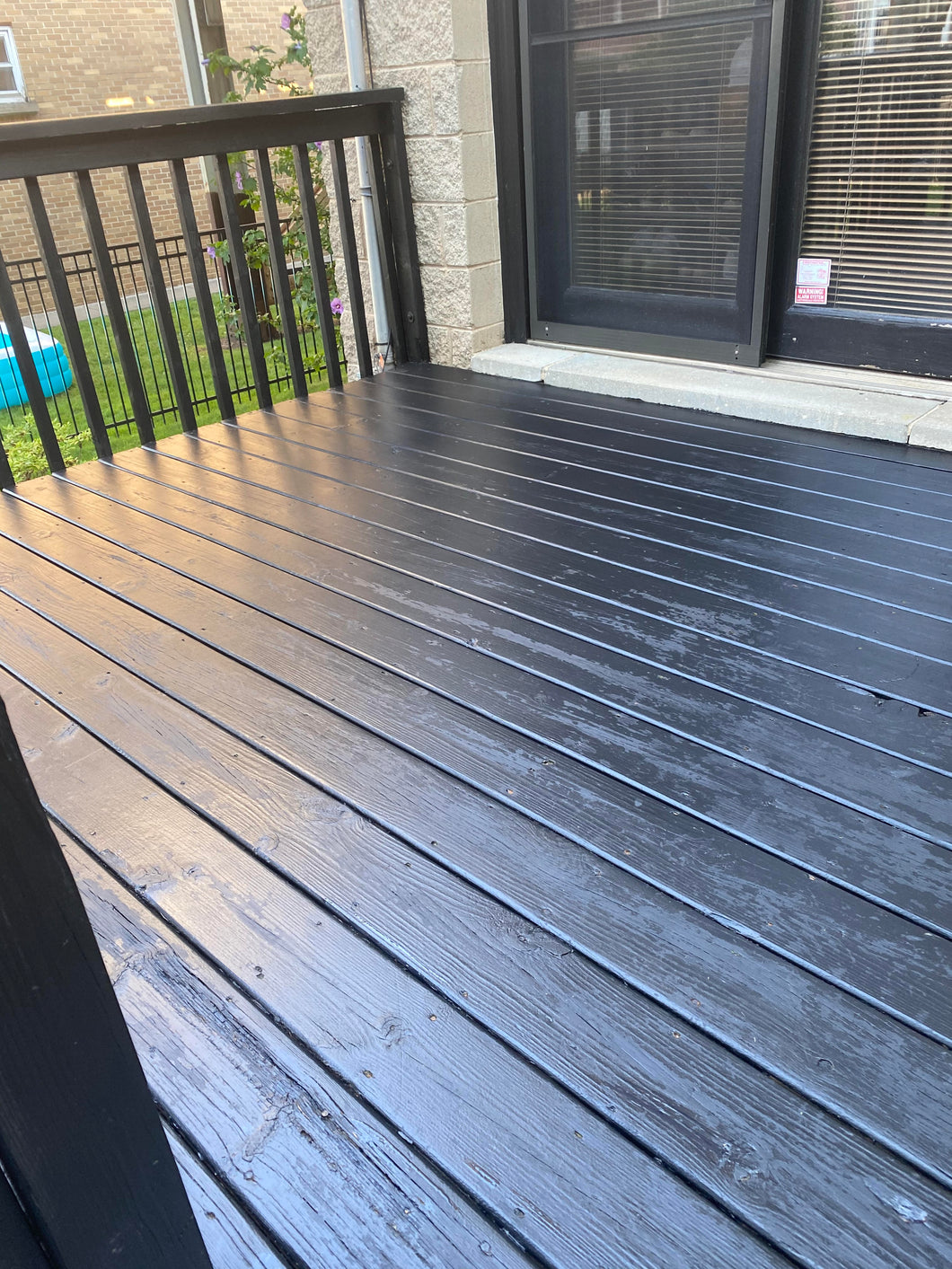Deck and Patio Restain