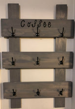 Load image into Gallery viewer, Reclaimed Wood Coffee Stand