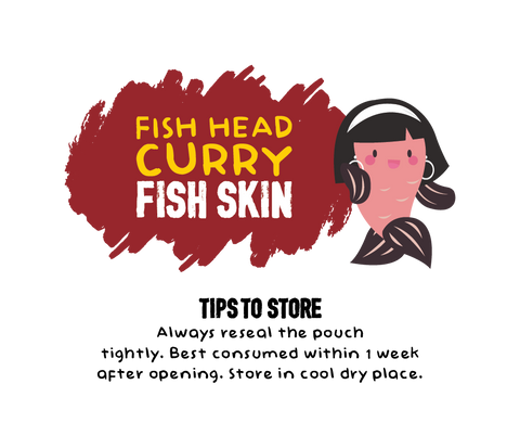 Fish Head Curry Fish Skin Eating Tips
