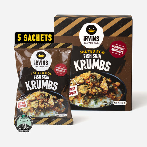 Salted Egg Fish Skin Krumbs (125g)