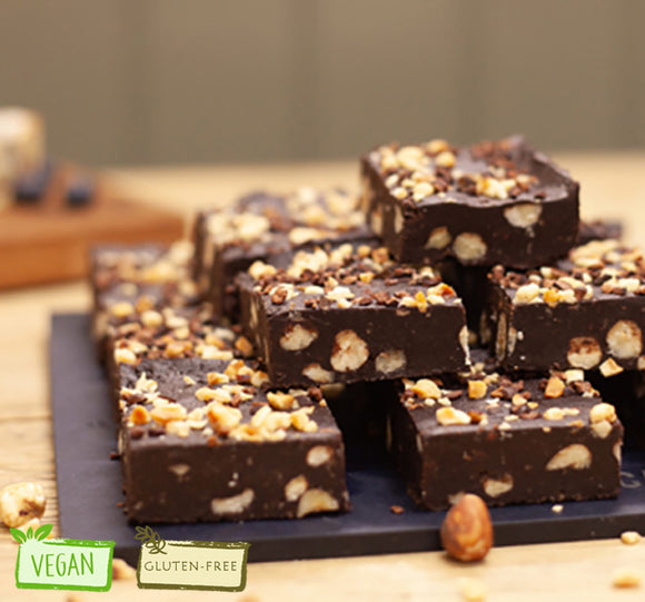 Hazelnut Praline Brownie