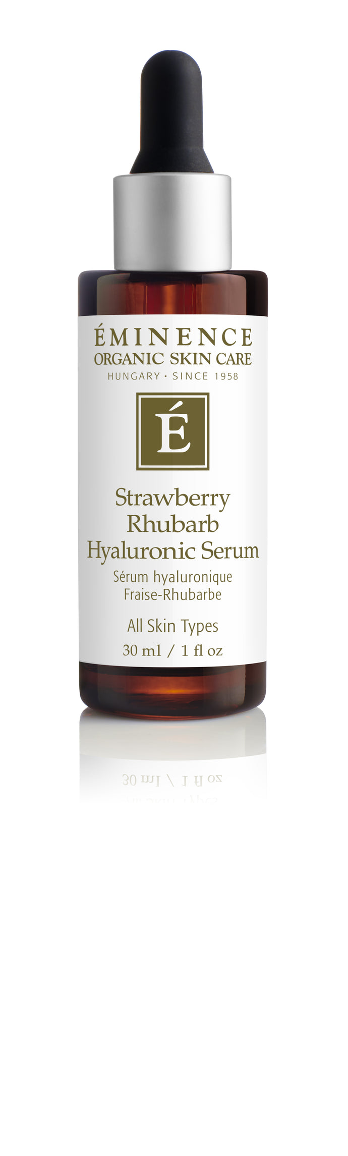 Eminence Organics Strawberry Rhubarb Hyaluronic Serum