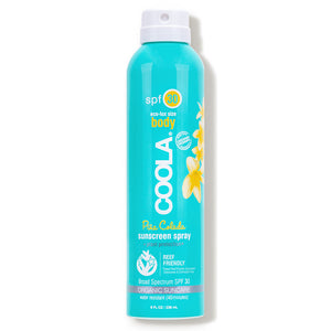Coola Classic Body Organic Sunscreen Spray SPF 50 - Pina Colada