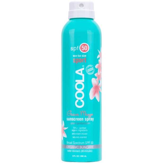 Coola Classic Body Organic Sunscreen Spray SPF 50 - Guava Mango