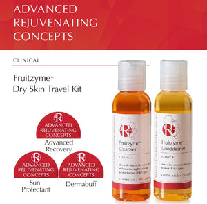 ARC Fruitzyme Dry Skin Travel Kit Starter Set