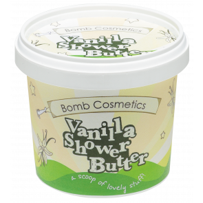 Bomb Cosmetics Vanilla Cleansing Shower Butter