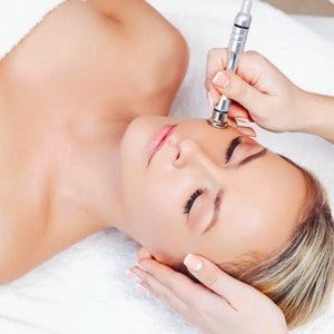 Microdermabrasion // This deep cosmedical exfoliation treatment sloths away those dead skin cells, cleans out your blocked pores and works on reducing fine lines and wrinkles