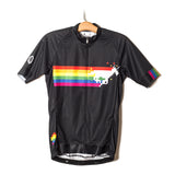 Sparkle Horse 8-Bit Cycling Jersey - Rainbow